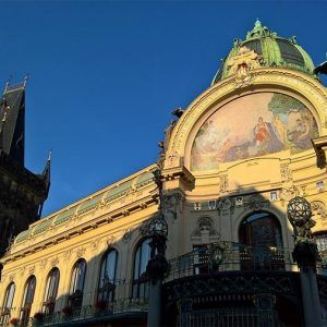 Art Nouveau guided tour in Prague