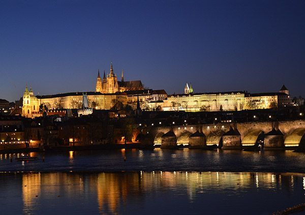 Prague Castle night tour