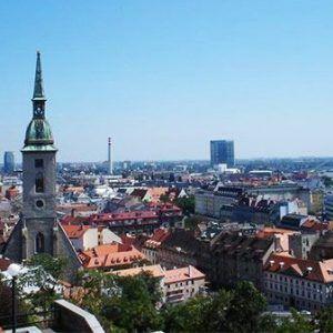 Bratislava city center