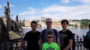Boys´ trip in prague, guided tour with included lunch