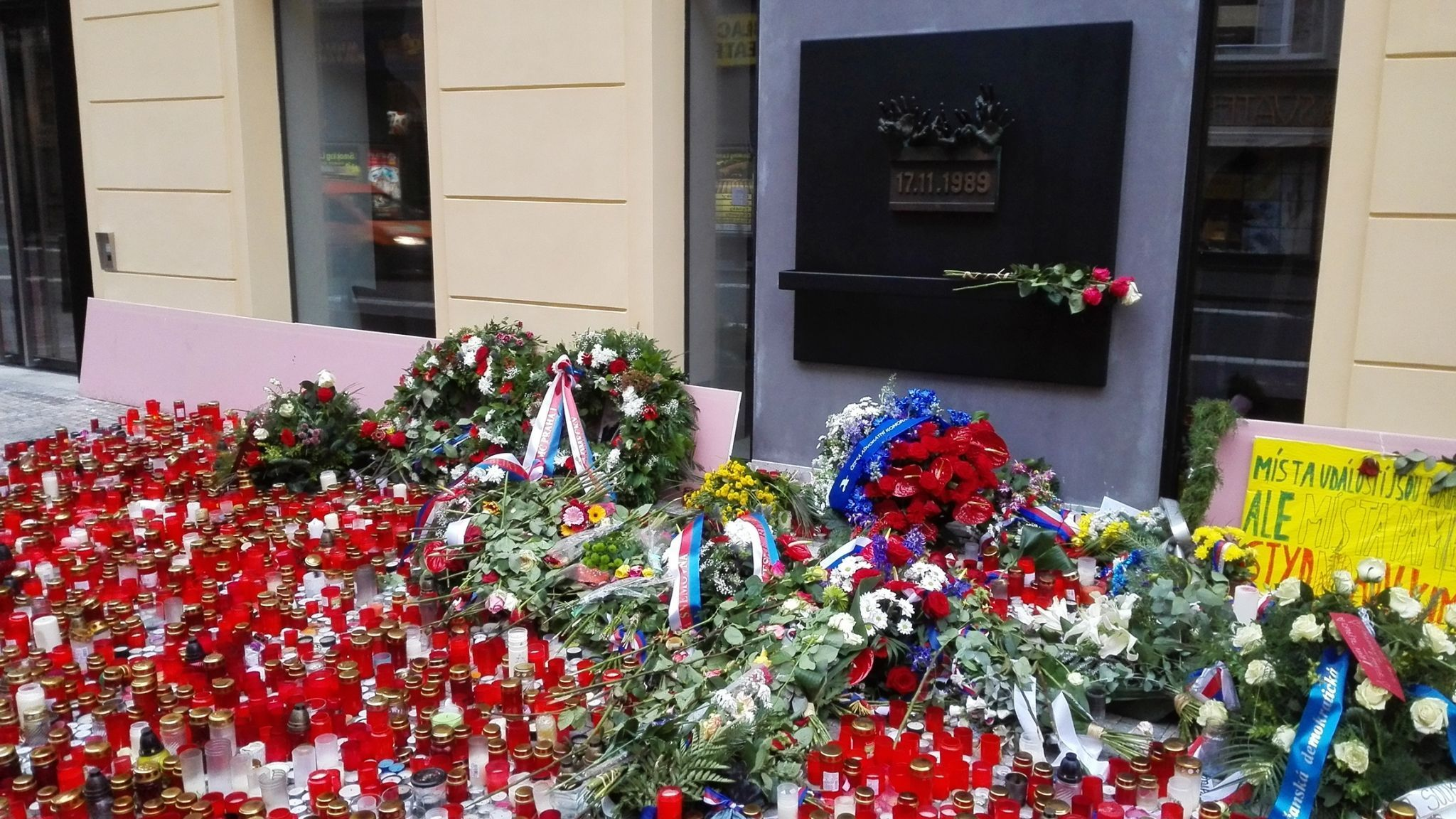Guided tour on topic Communism and world war two in Czechoslovakia