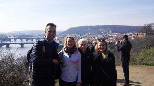 Prague guided tour for a family from Cologne, Germany