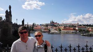 Best guided tour of Prague, view to Prague Castle