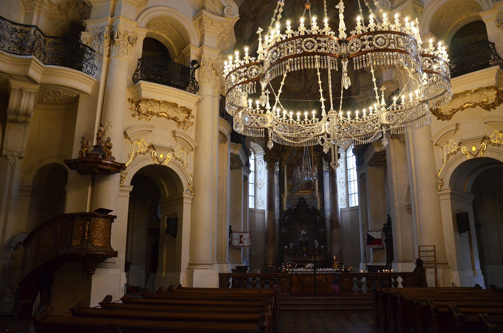 Prague concert in church