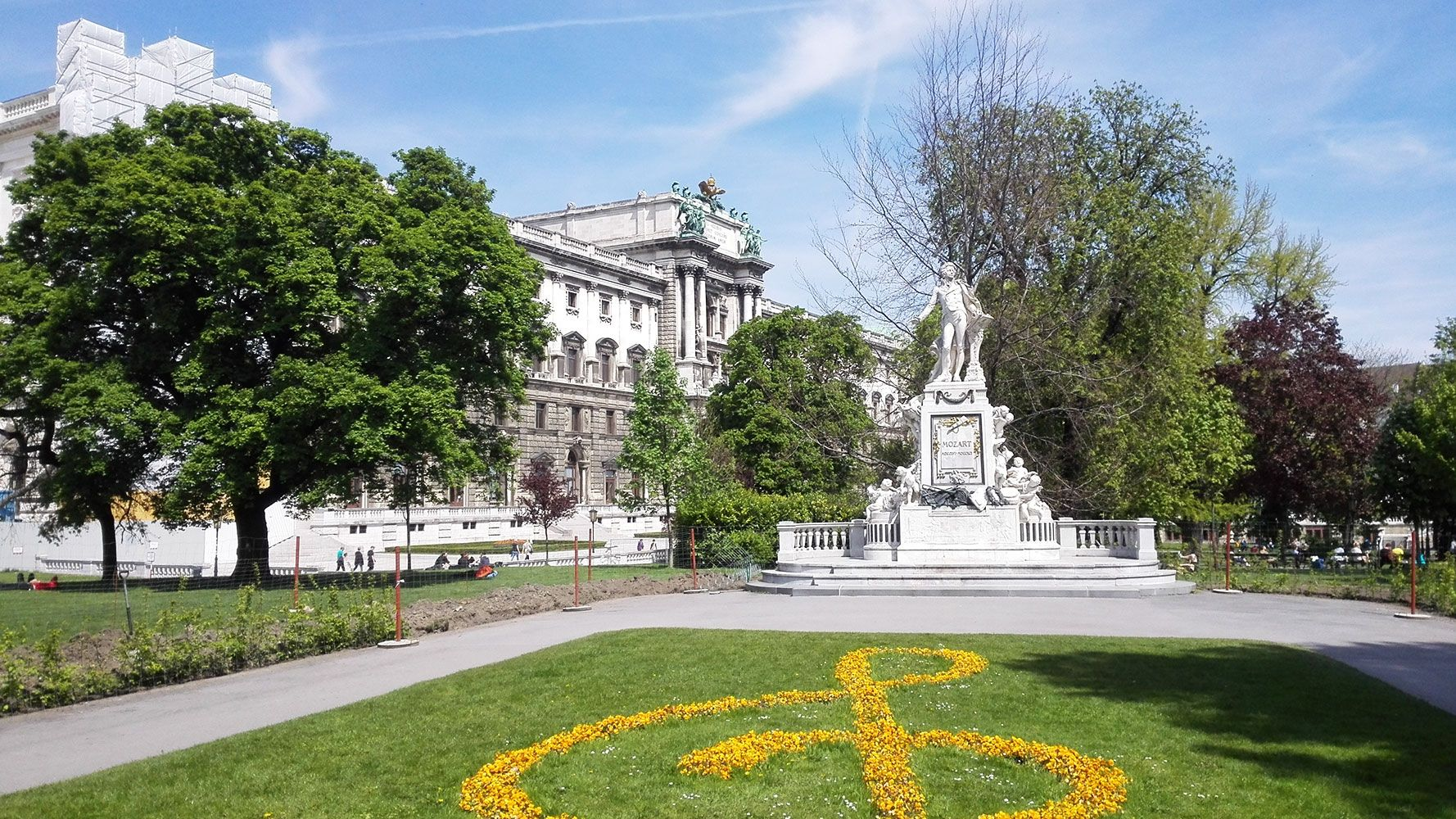 Vienna, Mozart statue - guided tour from Prague with Supreme Prague tours