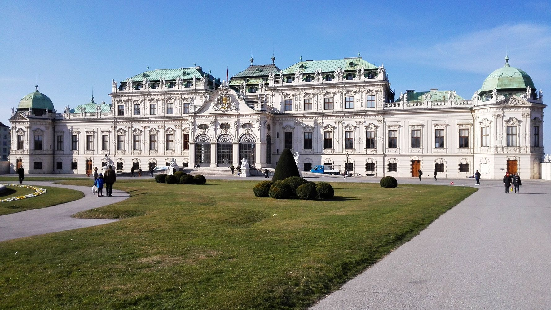 Vienna, Upper Belveder - guided tour from Prague with Supreme Prague tours