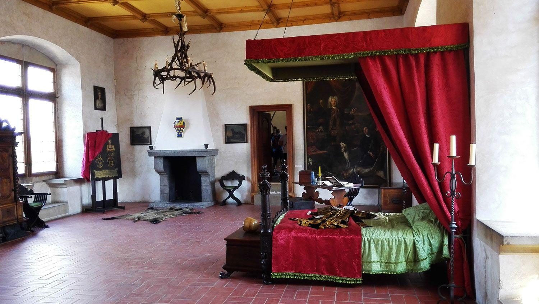 Bedroom in the Castle Kost