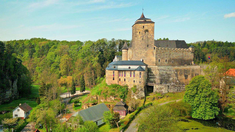 Castle Kost in the Czech Paradise