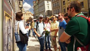 A company trip to Prague, guided tour with Supreme Prague