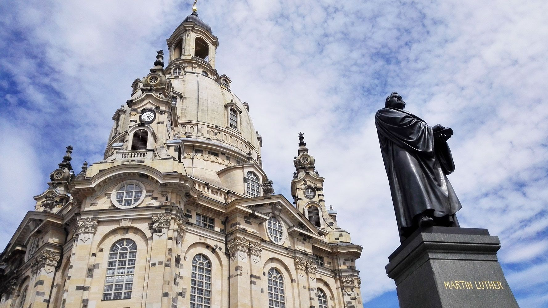 Dresden center, Frauenkirche