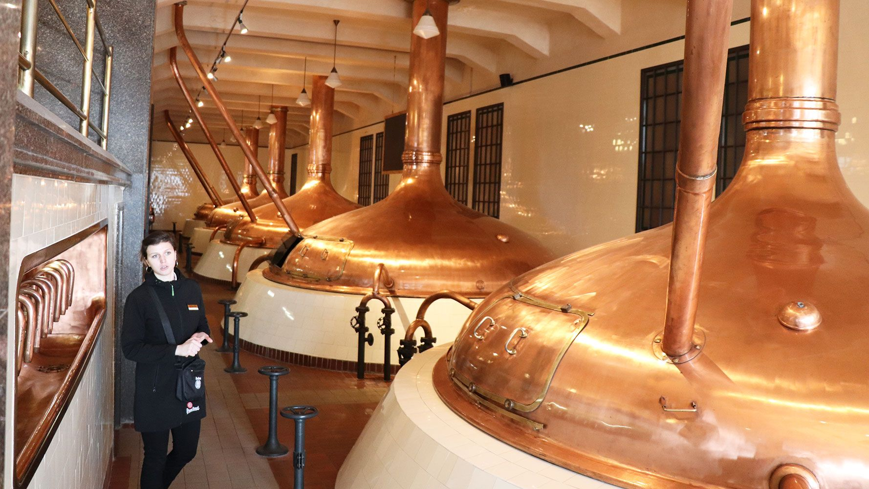 Pilsen brewery, guided tour