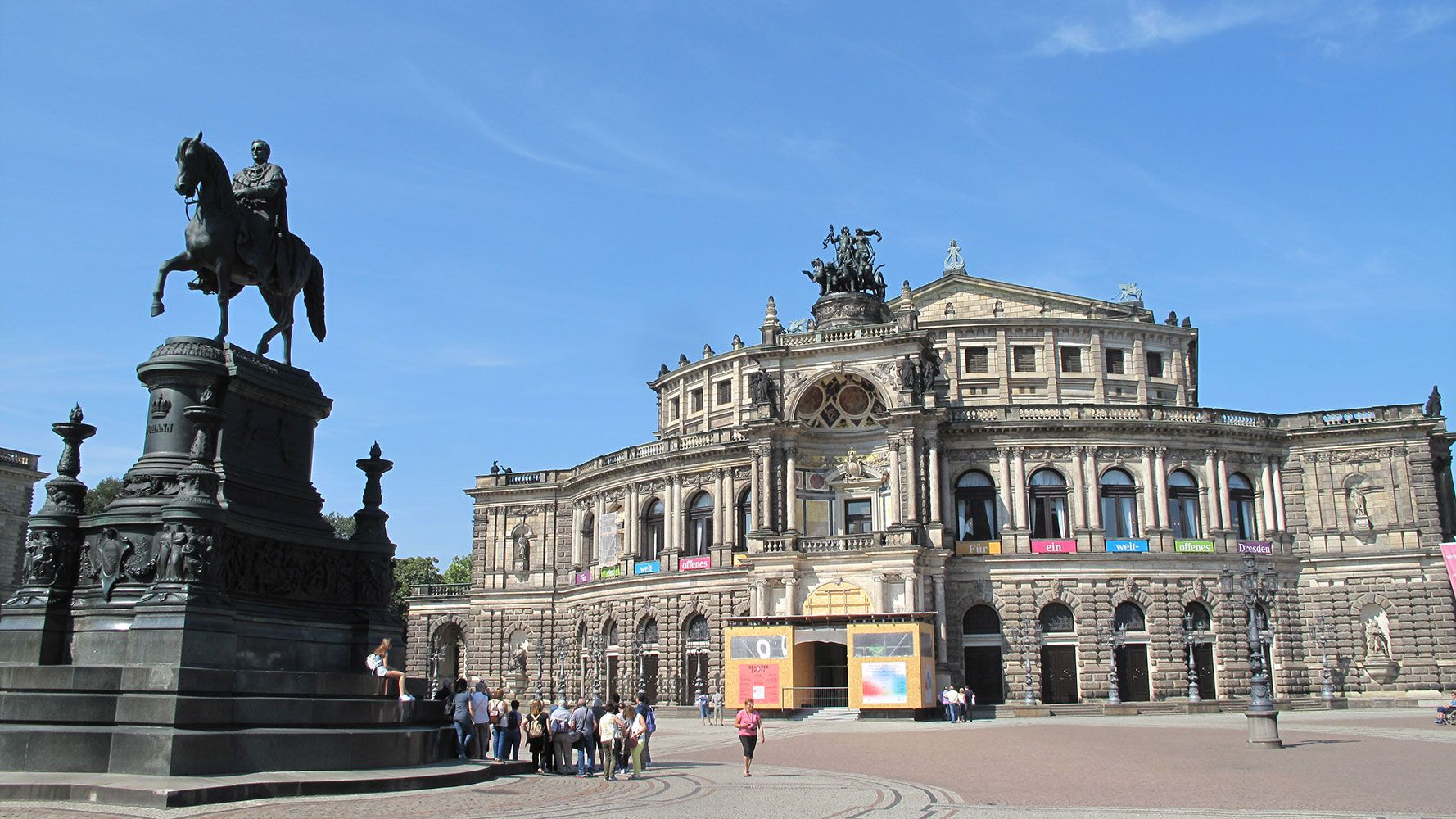 Opera house in Dresden