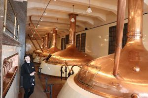Guided tour in Pilsen brewery