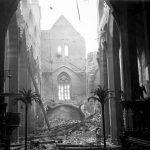 Emauzy monastery damaged on February 14th 1945