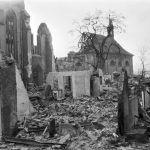 Damaged Emauzy monastery