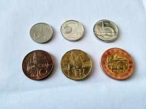 Czech money: coins