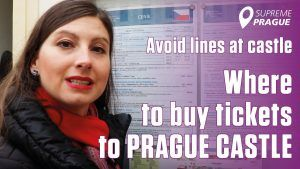 Avoid lines at prague castle, where to buy tickets, cover photo Supreme Prague