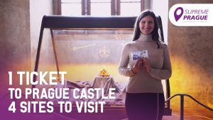 One ticket to Prague castle, cover photo, Supreme Prague