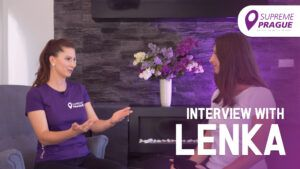 Interview with Lenka, Supreme Prague
