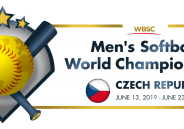 Men´s softball world championship 2019 in Czech Republic